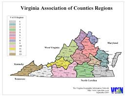 Map Of Virginia by Virginia State Map