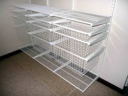 Wall Mounted Wire Shelving White Wire Shelving Sturdier Cabinet Home Decorations