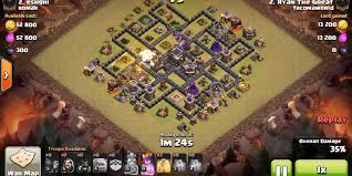 clash of clans hog rider clash of clans th9 goho strategy that college gamer