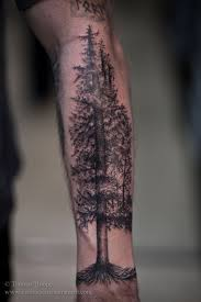 image result for tattoos of the woods wildlife mountain tattoos