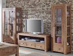 Wohnzimmerschrank 300 Cm Lowboard Bihar 150x60x55 Cm Akazie Massiv Stone Tv Möbel Tv