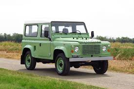 green land rover defender just listed 1985 land rover defender 90 five speed automobile