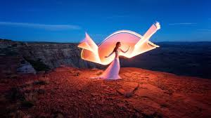 Light Painting Landscape Photography by Tube Light Painting In Harsh Conditions The Wind Tube Stories