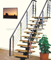 modern indoor stairs single stringer steel stairs custom stairs