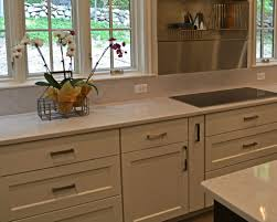 Cream Color Kitchen Cabinets Enchanting Cream Color Kitchen Quartz Countertops Featuring Built
