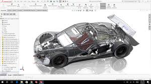 lamborghini front drawing dassault systèmes solidworks