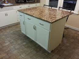 Kitchen Diy by Good Looking Diy Kitchen Island From Cabinets