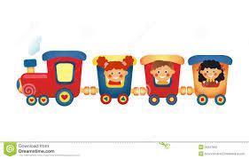 kids train clipart clipartxtras