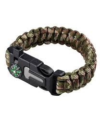 buckle survival bracelet images 5 in 1 multi functional survival bracelet with compass whistle jpg