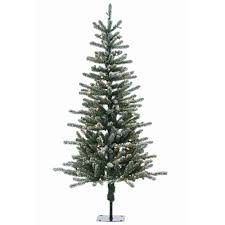 5 ft pre lit bridgeport pine artificial tree with clear
