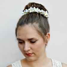 flower hair bun liliana floral bun belt flower crown for your hair bun