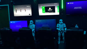 star wars themed game room video game party center youtube
