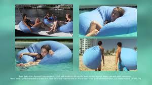 buoy ball the original floating bean bag chair youtube