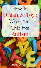 how to organize toys how to organize toys when your child has autism