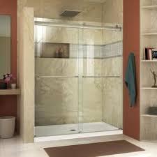 shower glass sliding doors shop shower doors at lowes
