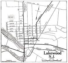 map of lakewood new jersey county new jersey maps and gazetteers