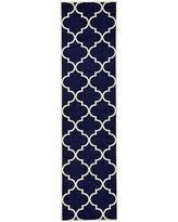 Navy Blue Runner Rug Great Deals On 2 7x10 Trellis Navy Blue Runner Area Rug