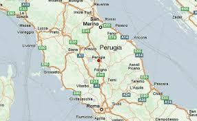 map of perugia map of perugia travelquaz