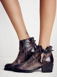 X A S 98 Long Road Moto Distressed 39 In Choco Nero Boots Booties
