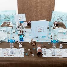 deco table marin set de table pirate déco table anniversaire enfant féezia