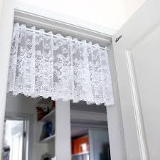 Sheer Door Curtains Online Shop Xinhuaease Short White Tulle Curtain For Kitchen