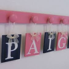 best navy and pink nursery decor products on wanelo
