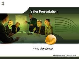 sales presentation powerpoint template