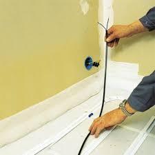 comment installer un chauffage électrique par le sol