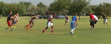 Coed Flag Football Youth Flag Football Leagues City Of Okc