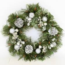delightful images of silver wreath for