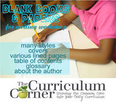 blank writing paper with lines blank books papers for writing workshop the curriculum corner 123 free blank books papers for your writing workshop lots of choices with various lines