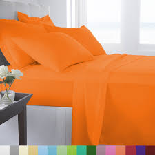 orange bed sheet sets fall sale u2013 ease bedding with style