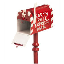 letters to santa mailbox 3 5 ft letters to santa mail box outdoor decor target