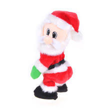 santa ornaments ebay