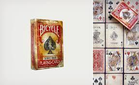 vintage cards vintage series 1800 cards by bicycle cool material