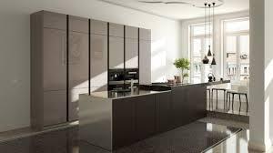 stormer cuisine cuisine laque beige cuisine ouverte sur salon en ides open space