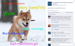 Create Your Own Doge Meme - the day the us govt released their own doge meme to promote healthcare