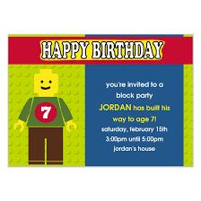 lego my way birthday party invitations u0026 cards on pingg com