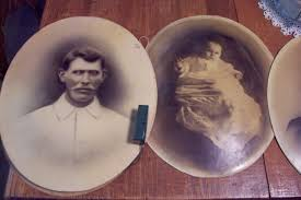 saturdays vintage finds altered scary halloween mirrors u0026 photographs