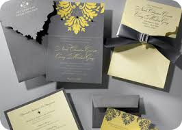 custom invitations we will develop this look through various printed materials