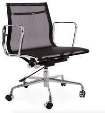 Black Mesh Office Chair Midcentury Modern Mesh Office Chair Contemporary Office Chairs