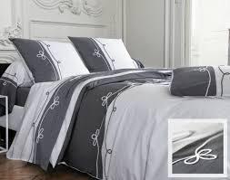 housse de couette hotel linge de lit percale finition cordelette becquet