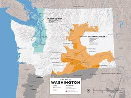 Washington State Area Code Map by 18 Washington Wines To Freak Out About Wine Folly