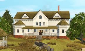 Tumbleweed House by Mod The Sims Tumbleweed Mansion Red Dead Redemption
