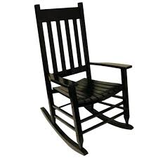 Black Patio Chair Rocking Chair Seat Slats Beastgames Club
