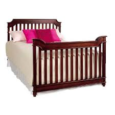 Bed Frame For Convertible Crib Bonavita Newcastle Convertible Crib Rustic Cherry Ny Baby Store