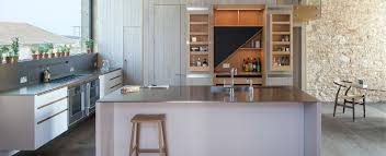 Kitchen Cabinet Makers Sydney Jack Trench Kitchen With Stainless Worktops Kitchen Materials