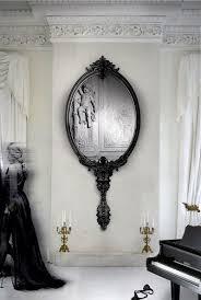 Bedroom Wall Mirrors With Lights Best 10 Black Wall Mirrors Ideas On Pinterest Purple Kitchen
