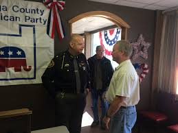 Ican Flag Sheriff Prosecutor Have Open Chat Over Cup Of Joe Geauga County