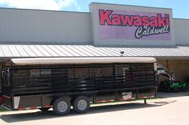 Scissor Lift Hunting Blind In Stock Trailers Texas Kawasaki Of Caldwell